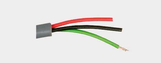 Unscreened 3 core Cable 150V rms