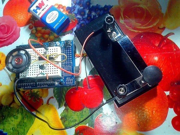 Arduino Morse Code Practice Oscillator-Proto(2)