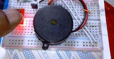Isolated 1 Key Touch Pad-Breadborad Driver Live
