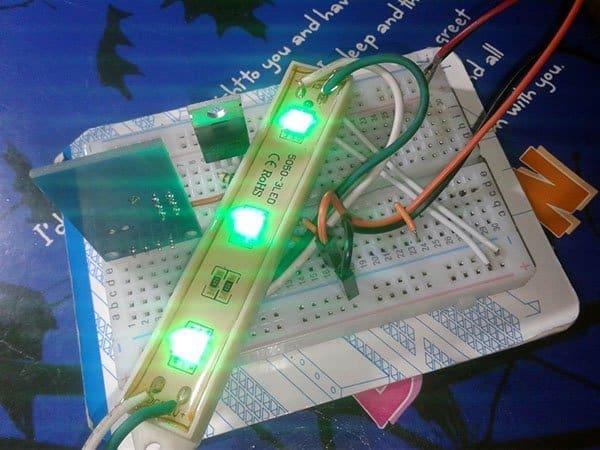 LED Stick Test Run