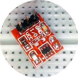 TTP223 Module Closeup