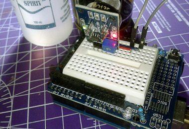 Air Quality Sensor-Arduino Featured