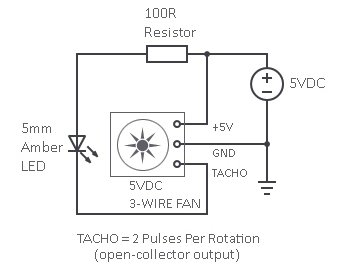 Fan Tacho Strobe Circuit