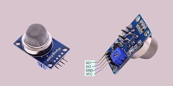 MQ135 Module Blue