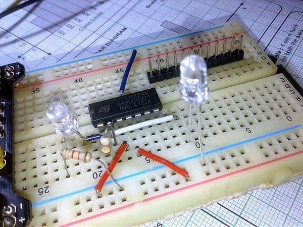 Photoelectric Light Sensor-Test Setup
