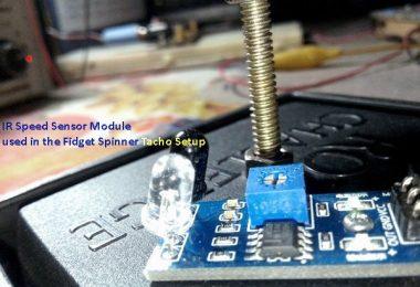 RPM & Infrared Tach-Fidget Spinner Tacho
