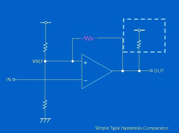 Simple Type Hysteresis Comparator