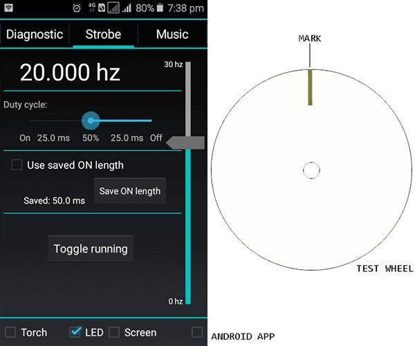 Strobily App Screenshot