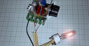 Triac AC Dimmer-Module Test (2)