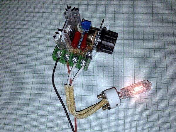 Triac AC Dimmer-Module Test (2)