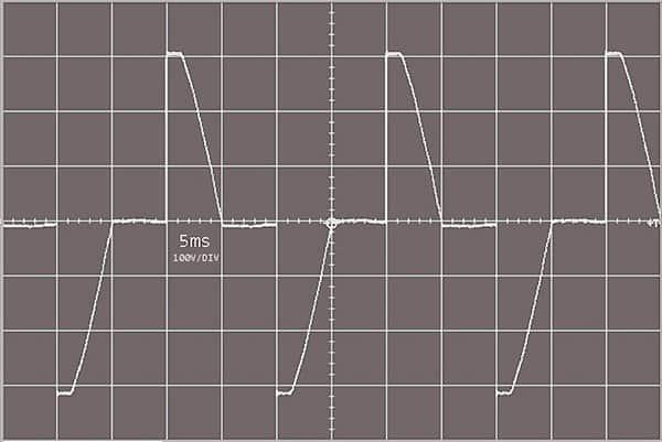 Triac AC Dimmer-Scope Trace DFProbe