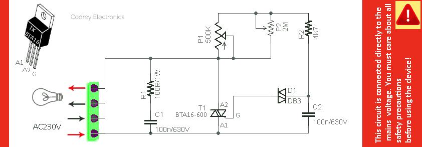 Triac Module Schematic v1