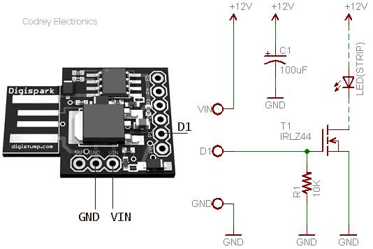 Acrylic Display-LED Driver v1