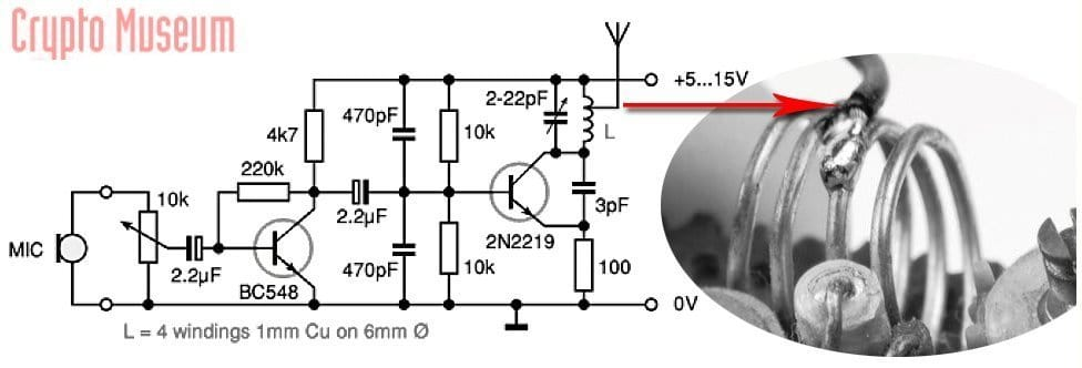 FM Radio Bug Circuit