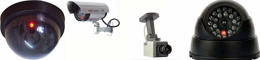 Fake CCTV Cameras