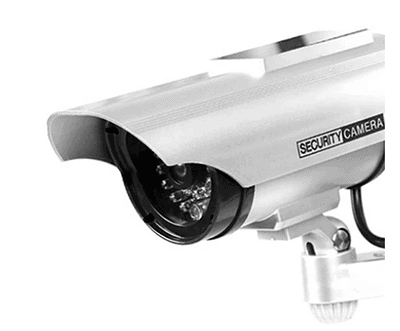 Fake Solar CCTV Camera