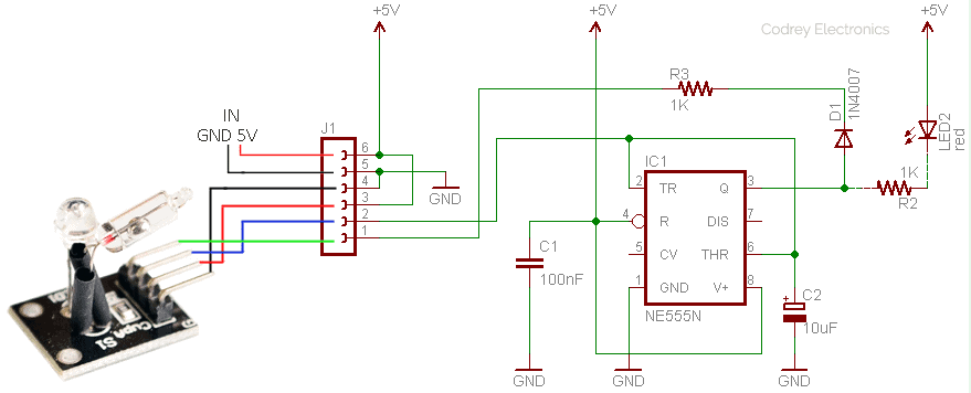 Magic Cup Light Module-Control Circuit v1