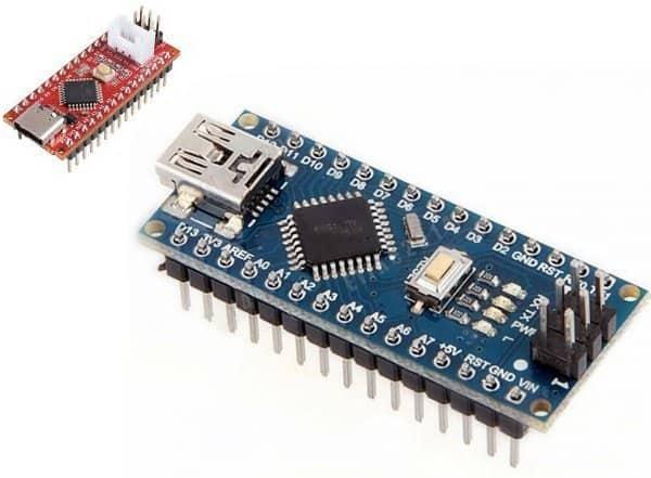 Seeeduino Nano and Arduino Nano