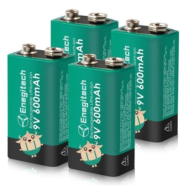 9V Li-Ion Batteries