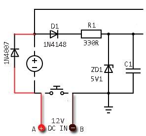 Bicycle Electronic Horn Hack-Circuit Hack