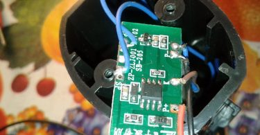 Bicycle Electronic Horn Hack- PCB Bottom