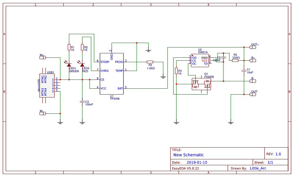 TP4056 Pro Circuit