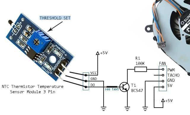 Basic Thermistor Circuit