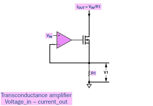 Laser Diode Driver-Transconductance Amplifier