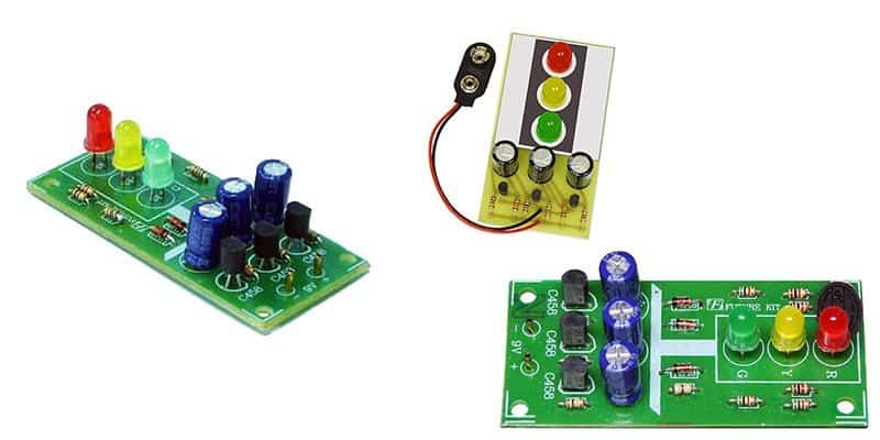 Mini Traffic Light Kits