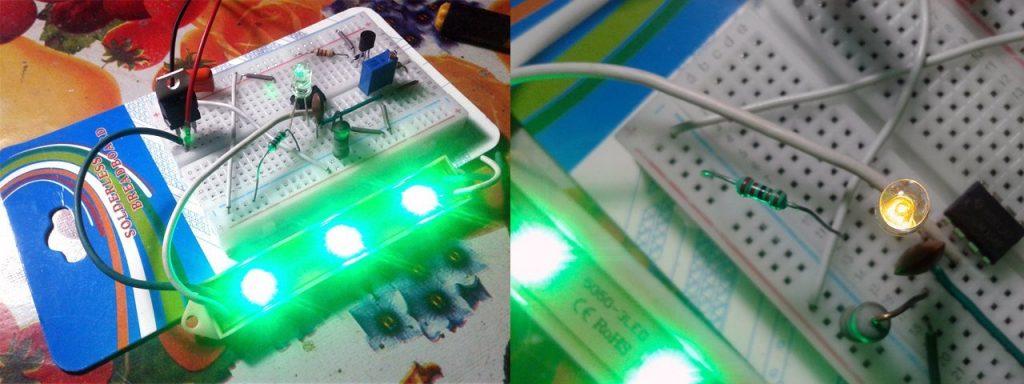 Over-Current Detector-LED Test
