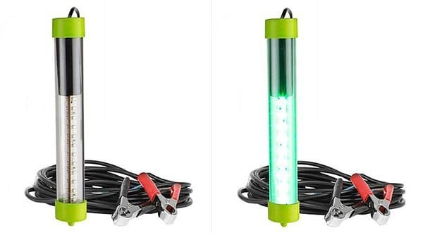 Portable 36 LED 12V Submersible Green Fishing Light Fish Attractor 1