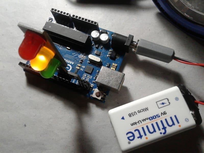 Traffic Light LED Modules-Experiment