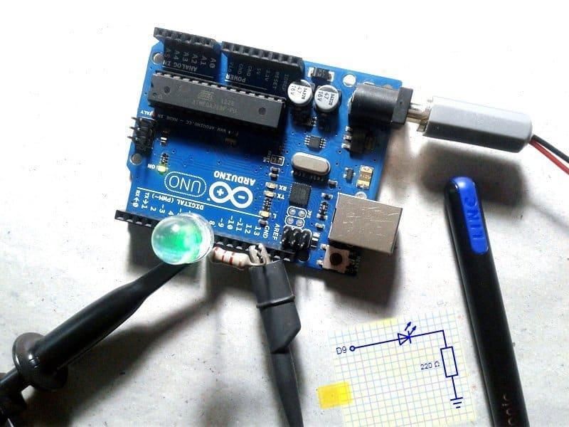 Advanced Arduino 16-bit PWM-Experiment Snap