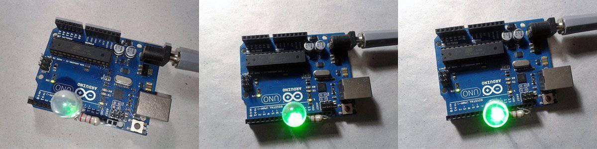 Advanced Arduino 16-bit PWM-Experiment Snaps