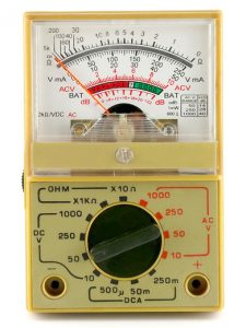 Ohmmeter (Analog Multimeter)