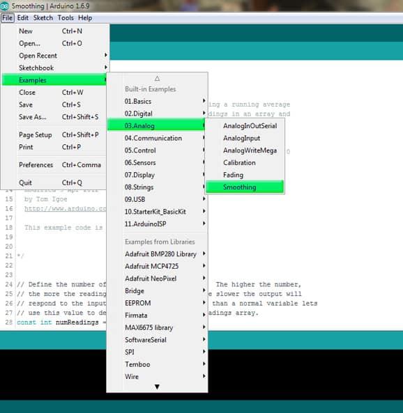 Arduino Builtin Example