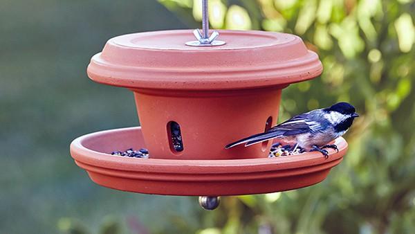 Bird Feeder Terra Cotta