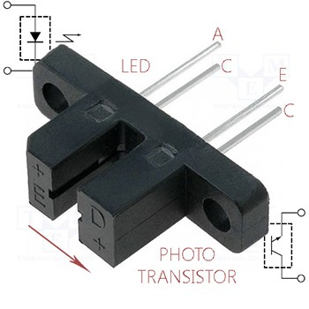 H21A1-Slotted Optical Sensor