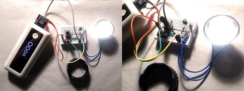 Tiny Task Light Quick Test Setup