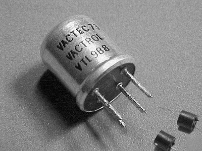 Vactrol Analog Optical Isolator