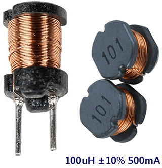 100uH Readymade Inductor