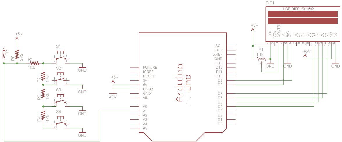 AD Keypad LCD Test v1