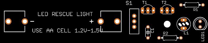 LED Rescue Light PCB(T)