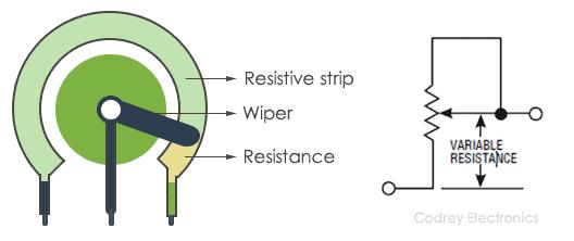 Potentiometer as Rheostat