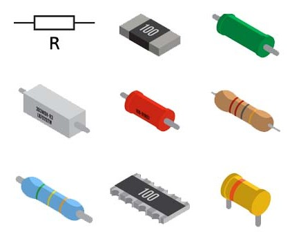 Power rating of resistors