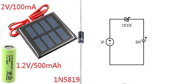 Solar Charger Setup