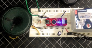 Spider Wrap Breadboarded Idle