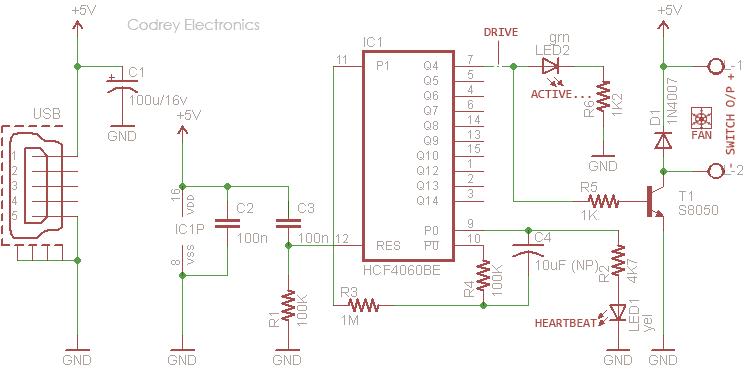 Fragrance Dispenser Controller Circuit v1