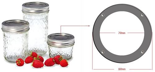 Jar Lid Template