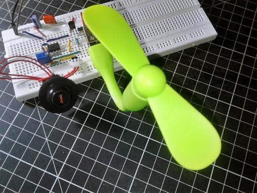 Aquarium Cooler Breadboard Test (1)